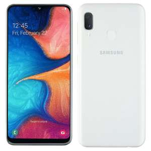Samsung Galaxy A20e dual sim 32gb refurb smartphone. Unlocked. 30 day free return + warranty £91.83 @ cheapest_electrical ebay Free postage