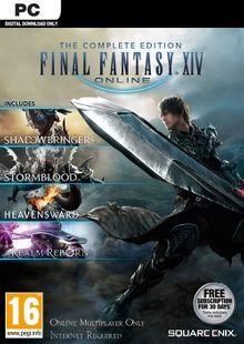 [PC] Final Fantasy XIV 14 Online Complete Edition Inc. Shadowbringers - £15.99 @ CDKeys