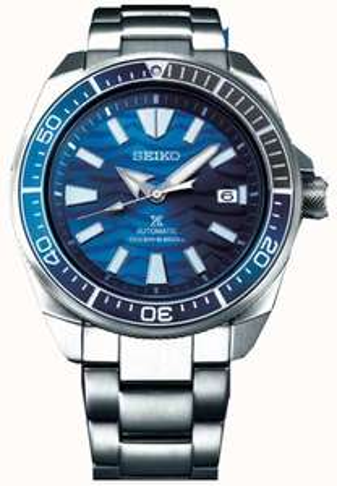 Seiko Prospex Samurai Save The Ocean Automatic Diver's Bracelet Watch SRPD23K1 £315.90 @ First Class Watches
