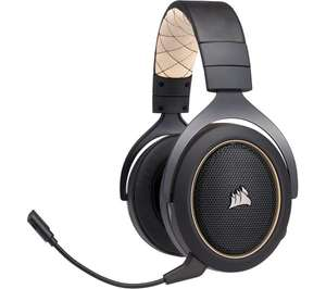 Corsair HS70 SE Wireless 7.1 Gaming Headset - Black & Gold | £69.99 Currys