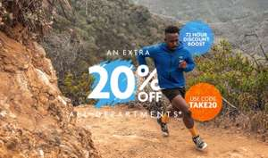 Extra 20% off with code @ Ultimate Outdoors