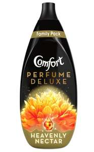 Comfort Perfume Deluxe Heavenly Nectar Fabric Conditioner 82 washes 1.23L £3.50 at Wilko