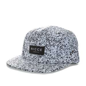 Nicce Mens White Noise Panel Cap £8.74 Delivered (With Code) @ Get The Label