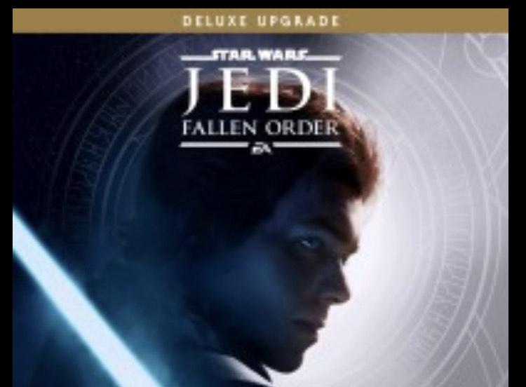 STAR WARS Jedi Fallen Order Deluxe Upgrade £7.99 at Playstation PSN
