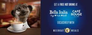FREE HOT DRINK With Meal Purchase At BELLA ITALIA & CAFÉ Rouge Via Compare The Market