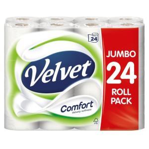 Velvet Comfort 24pk £7 @ CoOp nationwide