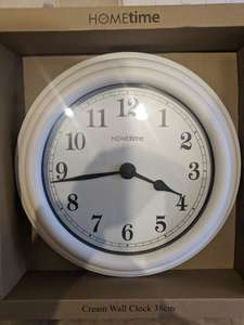 TK MAXX 38cm wall clock clearance £7 ,Colchester in store