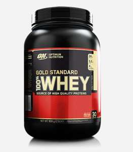 Optimum Nutrition Gold Standard Whey 900g £17 instore @ Sainsbury's Newcastle