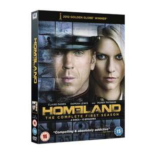 Homeland The Complete First Season - Used on DVD - £1.19 @ Music Magpie - Free Delivery