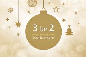 The Royal Mint 3 for 2 on Children's Gifts