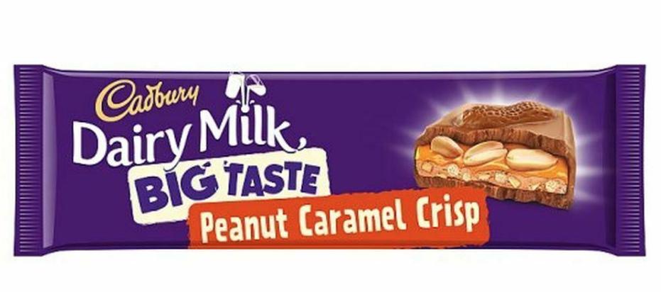 Dairy milk big taste peanut caramel crunch 278g @ Home bargains Blackpool