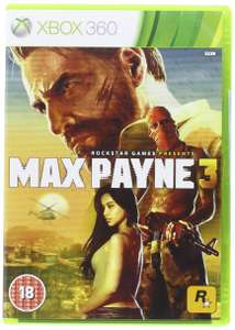 Max Payne 3 (Preowned XBox 360) £1.50 In-Store or £3 Delivered @ CEX
