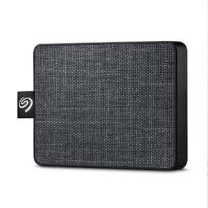 Seagate One Touch SSD 1TB External Solid State Drive Portable – Black, USB 3.0 for PC Laptop and Mac - £89.74 delivered @ Amazon
