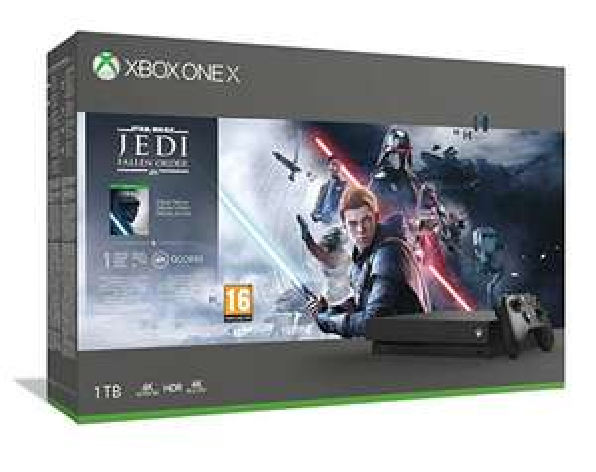 Xbox One X with Jedi Deluxe Edition £331.81 Amazon Italy