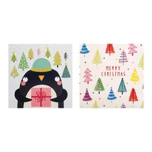 Traditional Illustrated Charity Christmas Cards from Hallmark - Pack of 30 in 2 Designs £1.39 @ Amazon Add on item