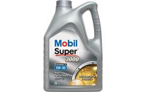 Mobil super 2000 5w30 semi-synthetic 5 litres at Asda for £10 (Woking)