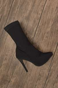 Fishnet Overlay Boots - £2.50 @ Everything5Pounds (+£3.95 Postage)