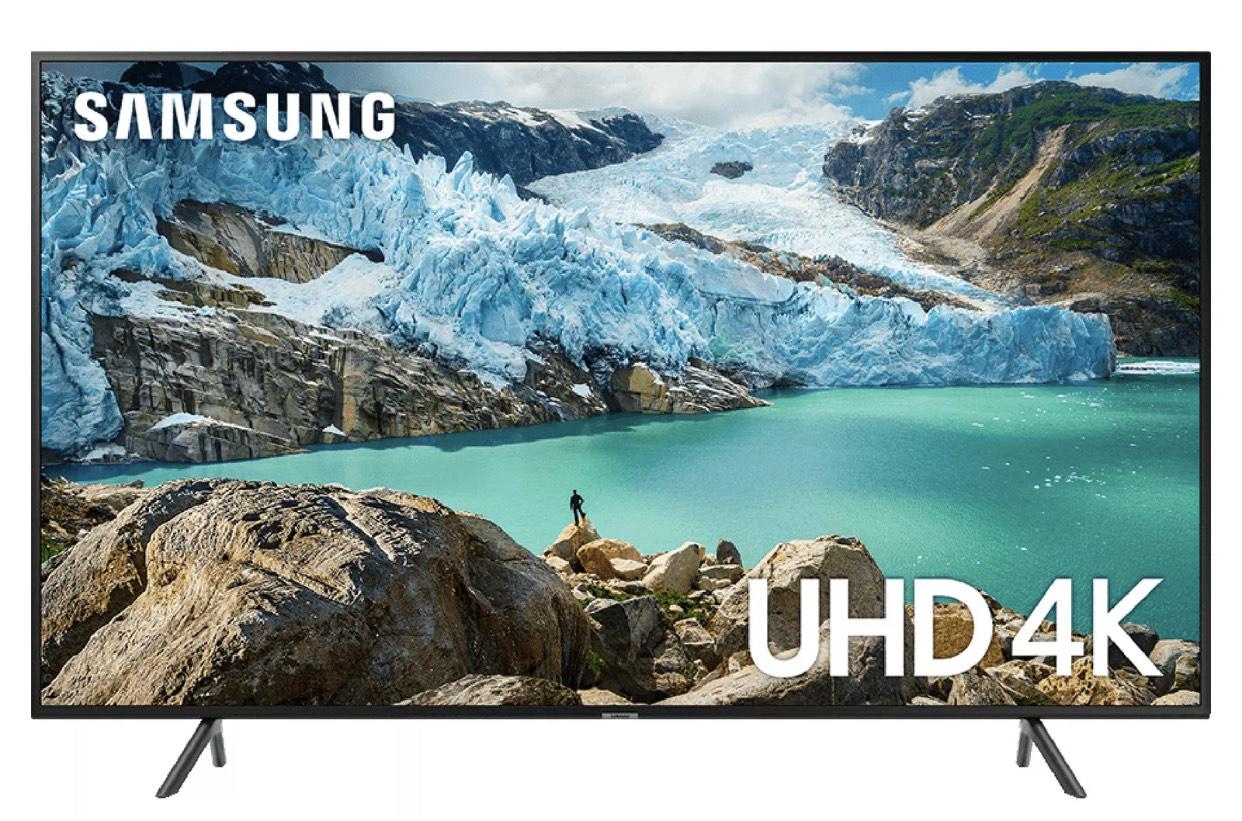 Samsung UE50RU7100KX 50 4K Ultra HD HDR Smart TV with Apple TV App £344 hughesdirect eBay