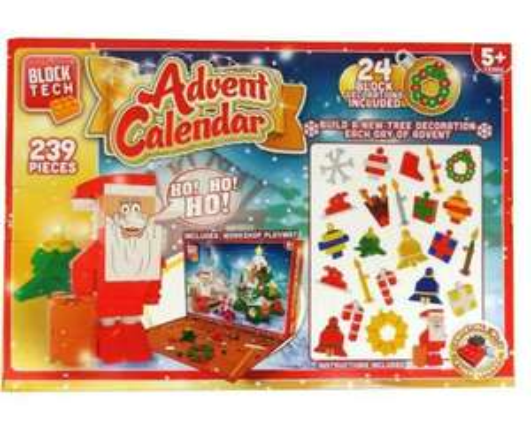 Block tech Christmas Advent calendar - £4.99 @ eBay / josm_3035