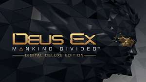 Deus Ex: Mankind Divided – Digital Deluxe Edition PC £5.89 @ Fanatical