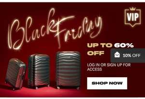 Samsonite Black Friday sales have begun! - upto 60% off