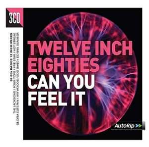 Twelve Inch Eighties - Can You Feel It [3CD compilation] + MP3 version - £2.99 @ Amazon Prime / Non-Prime (+£2.99)