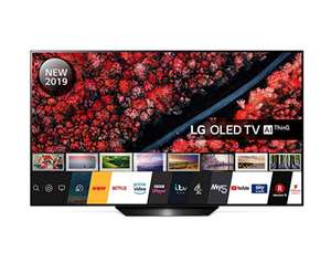 LG 55-Inch UHD 4K HDR Smart OLED TV OLED55B9PLA with Freeview Play - Black colour (2019 Model) - £1,099 Sold by Hughes Direct & FB Amazon.