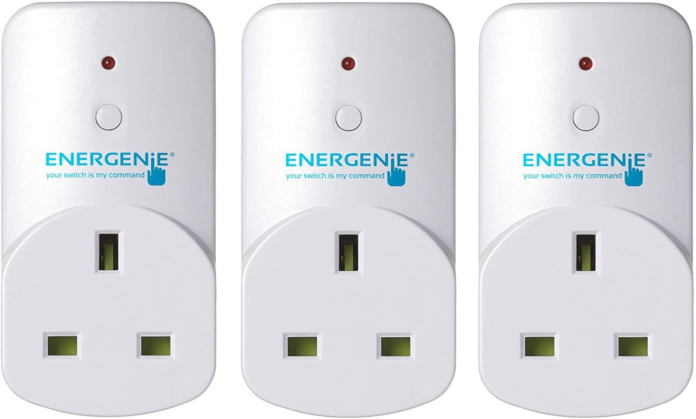 Energenie Alexa compatible Smart Plugs [MiHome Gateway required] £15.82 prime / £20.31 non prime @ Amazon