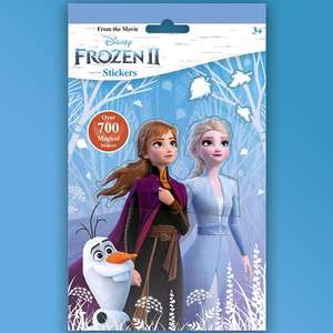 Free Frozen 2 sticker Pack @ WH Smith via O2 Priority