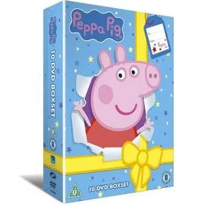 Peppa pig 10 dvd boxset £11.52 (Prime) / £13.51 (non Prime) at Amazon