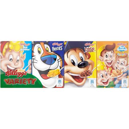 Kellogg's Variety Pack Cereal 8pk £1 @ Asda was £2.20