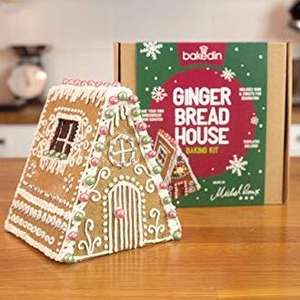 Gingerbread House at Bakedin via Vodafone Veryme £2.99 (Free just pay Postage)