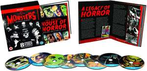 Universal Classic Monsters - The Essential Collection Blu-ray (8 Films) £7.84 delivered with prime / £10.83 Non-prime @ Amazon