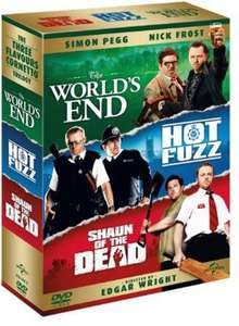 The World's End/Hot Fuzz/Shaun of the Dead DVD BOX SET £3.27 Amazon Prime (+£2.99 NP)