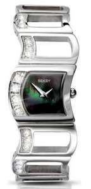 Seksy Ladies' Stainless Steel Swarovski Crystal Watch £24.99 @ Argos