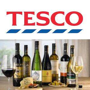 Buy 6 or more bottles of Wine or Champagne and save 25% @ Tesco