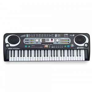 Academy of Music Electric Keyboard 54 Key - £13.49 Ryman - Free Click & Collect