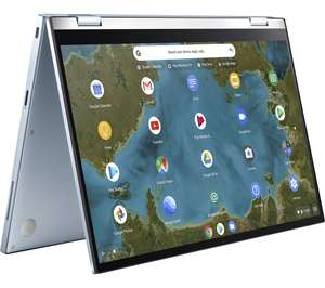 "ASUS Flip C433TA 14"" Intel® Core™ m3 2 in 1 Chromebook - 64 GB eMMC, Silver £399 @ Currys PC World"