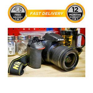 Nikon D3500 Digital SLR Camera w/ AF-P 18-55mm f/3.5-5.6G VR Lens £263.96 ebay / hitechelectronicsuk