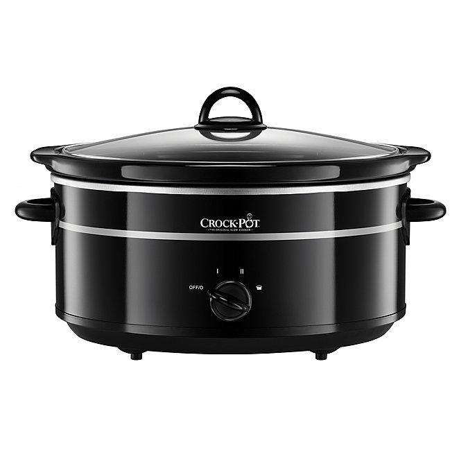 Crock-Pot 6.5L Slow Cooker SCV655B-IUK Black £20 Asda instore