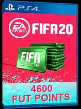 4600 FIFA 20 Ultimate Team Points PS4 PSN Code - UK account £28.48 CDKeys