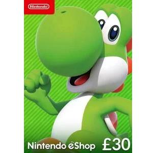 £30 Nintendo eshop gift card - £26.49 @ CDKeys