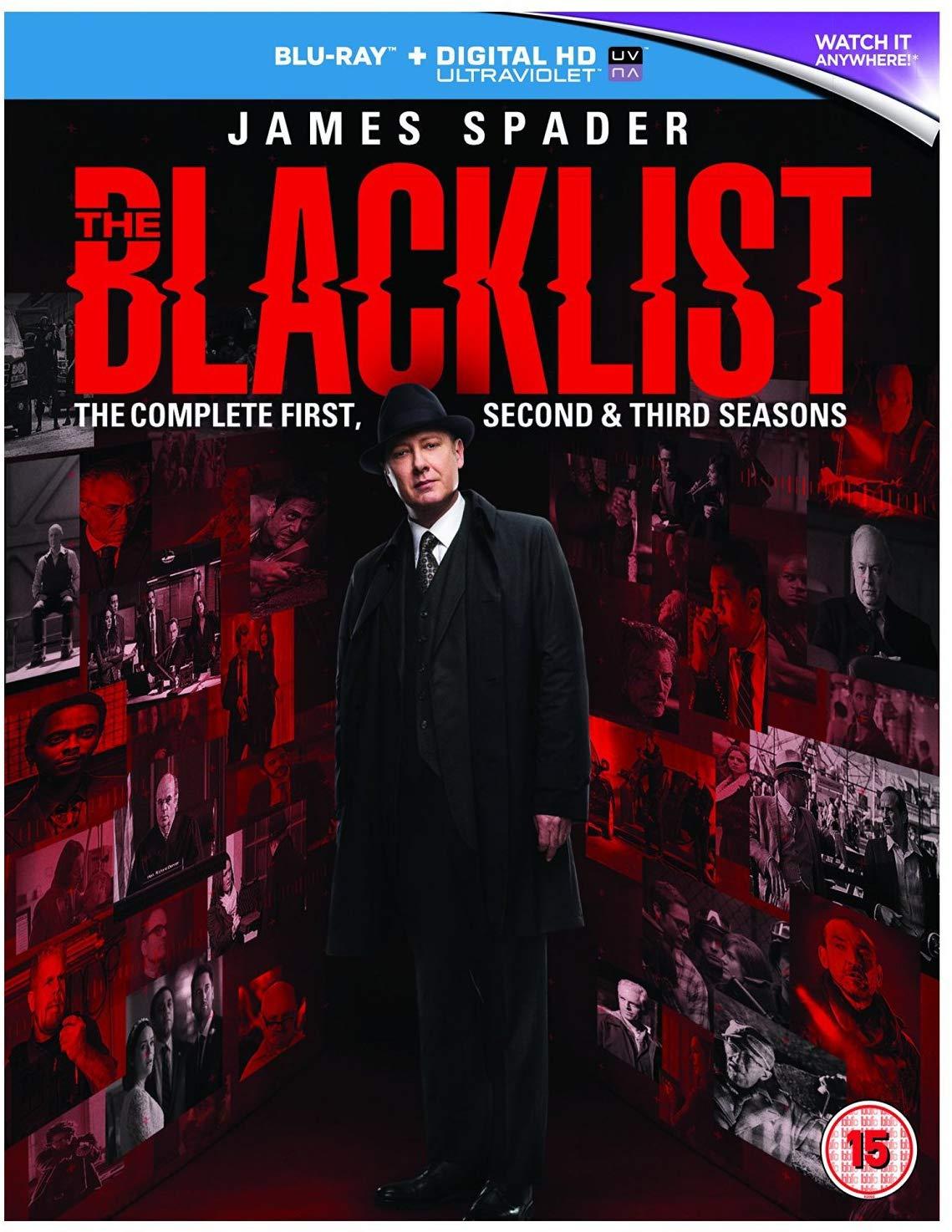 The Blacklist Season 1-3 Blu-ray Box Set £2.60 @ Amazon (£5.59 Non Prime)