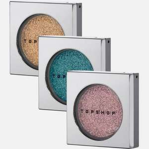 60% Off Topshop Beauty @ Very - Topshop 3 Glitter Eyeshadow Set (was £25) Now £10 (£10 each @ Topshop) £2 Click & Collect / FREE on £25