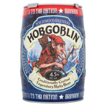 Hobgoblin Keg £9.99 at Home Bargains Poulton-le-Fylde