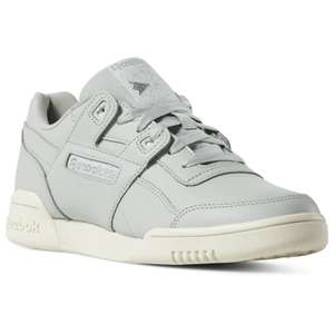 Reebok Women's Workout Lo Plus Leather Trainers £22.98 delivered with code @ Reebok (more in thread)