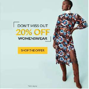 George Asda 20 % off Womens Wear Online & 10% off sale with George Rewards