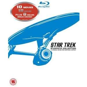 Star Trek: Stardate Collection - Movies 1-10 Box Set (Blu-ray) - £12.40 Delivered (£11.16 with code) @ Zoom