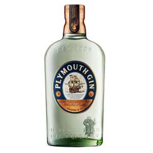 Plymouth Original Dry Gin 70cl £20 free delivery at Amazon