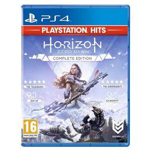 [PS4] Horizon Zero Dawn: Complete Edition (PlayStation Hits) - £11.49 delivered @ Monster Shop